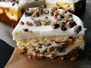 Carrot Cake Cheesecake slice 3
